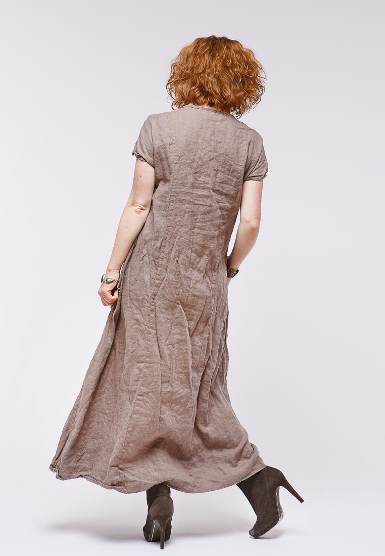 Платье-макси Kayros 4/8умбра-46-48
