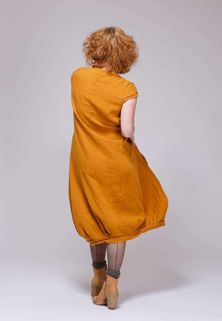 Платье-макси Kayros 4/11песочный-44-46