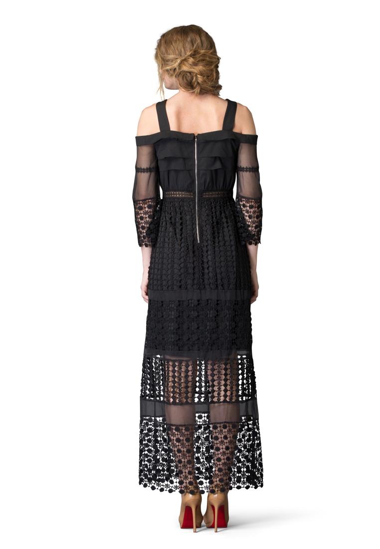 Вечернее / коктейльное платье Cavo CVDRMC050-black-S