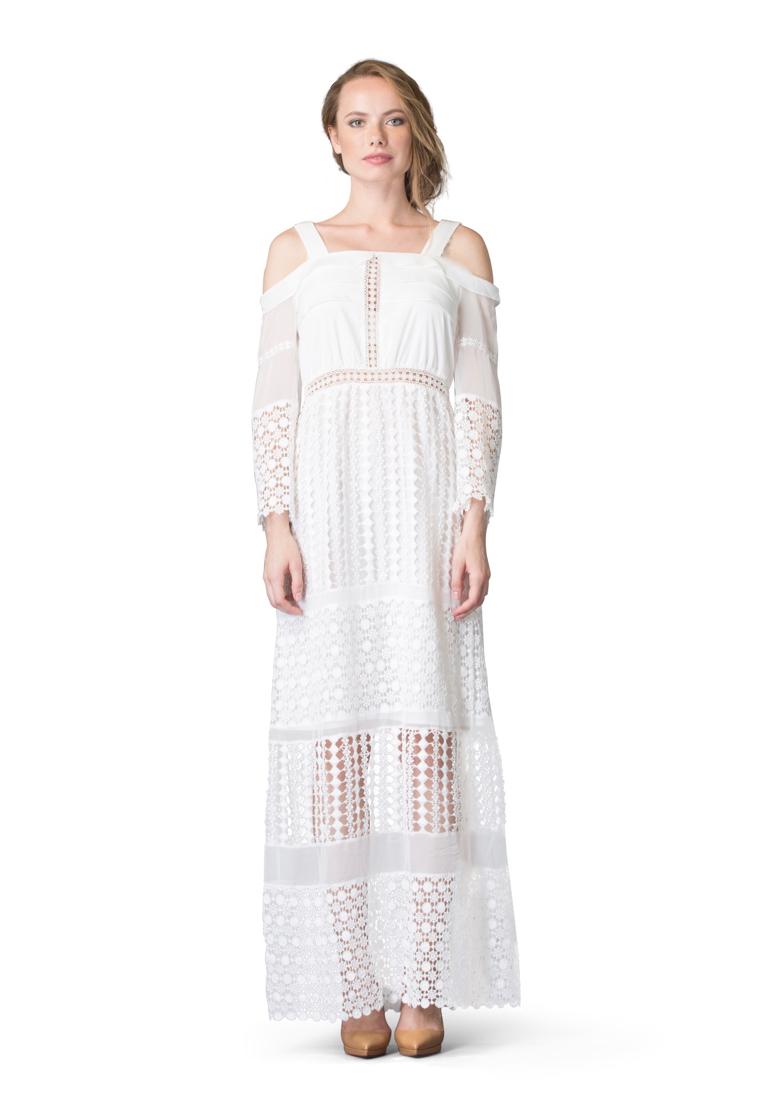 Вечернее / коктейльное платье Cavo CVDRMC041-white-S