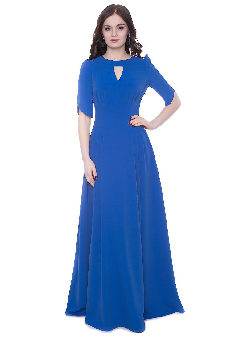 Вечернее / коктейльное платье Grey Cat GPl00142V(mihael) синий 42
