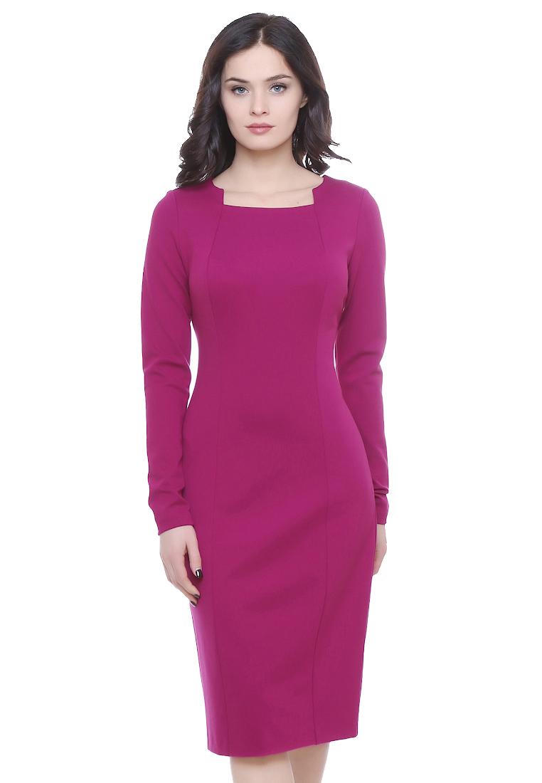 Повседневное платье Grey Cat GPl00100V(ilva) фуксия 42