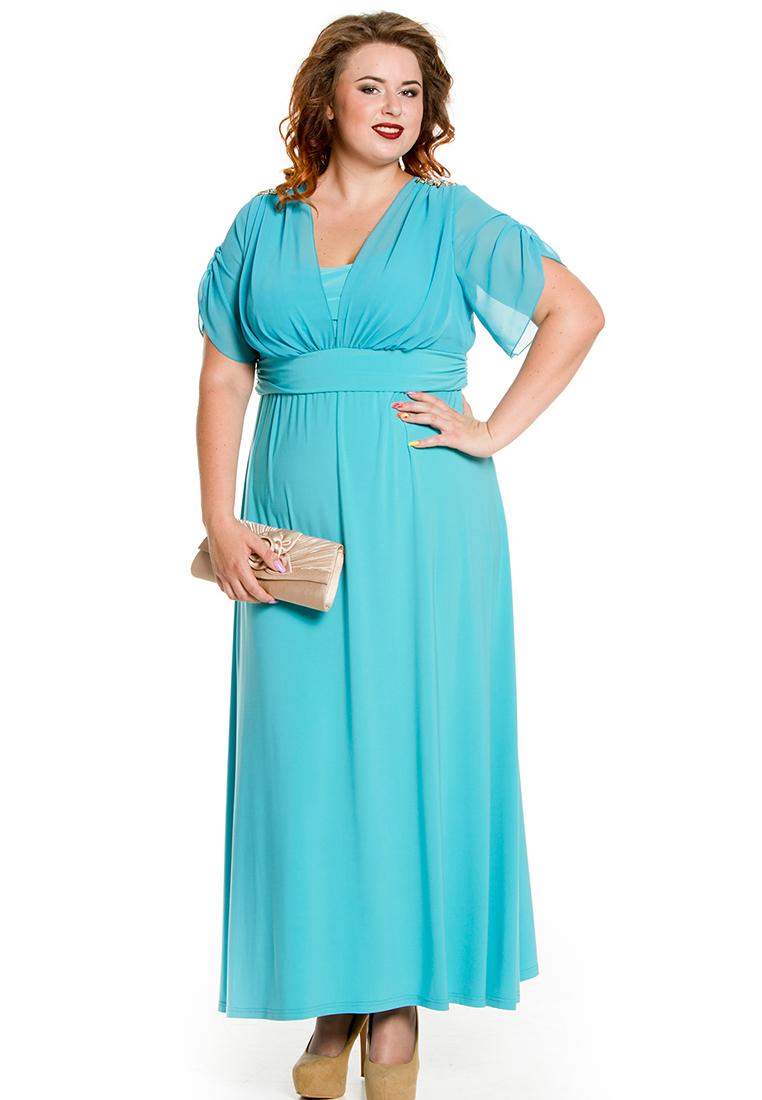 Платье-макси Luxury Plus 476-bl-52