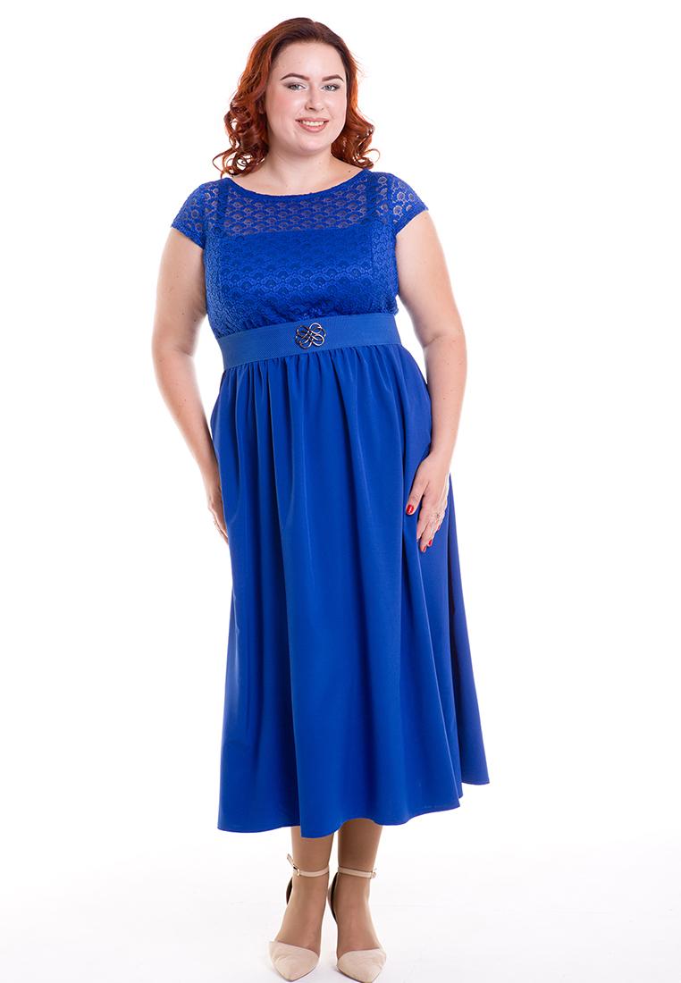Платье-макси Luxury Plus 501-bl-56