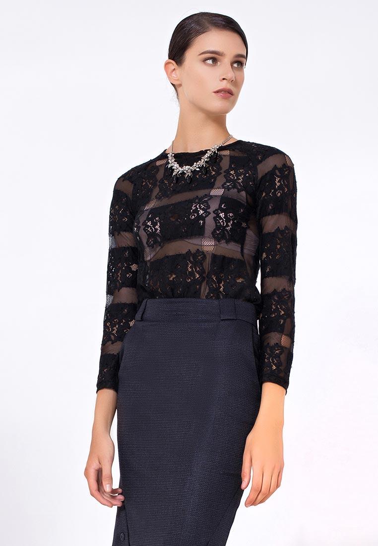 Блуза LO 09172023/черный/40