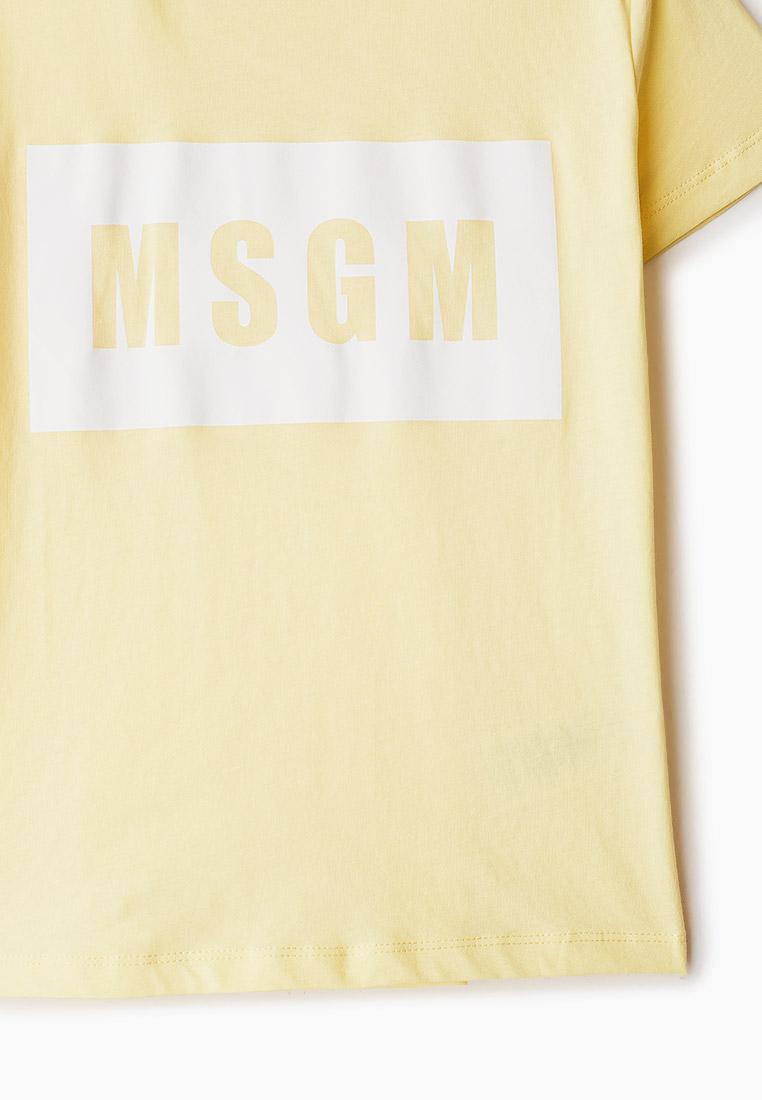 Футболка с коротким рукавом MSGM Kids MS026829: изображение 3