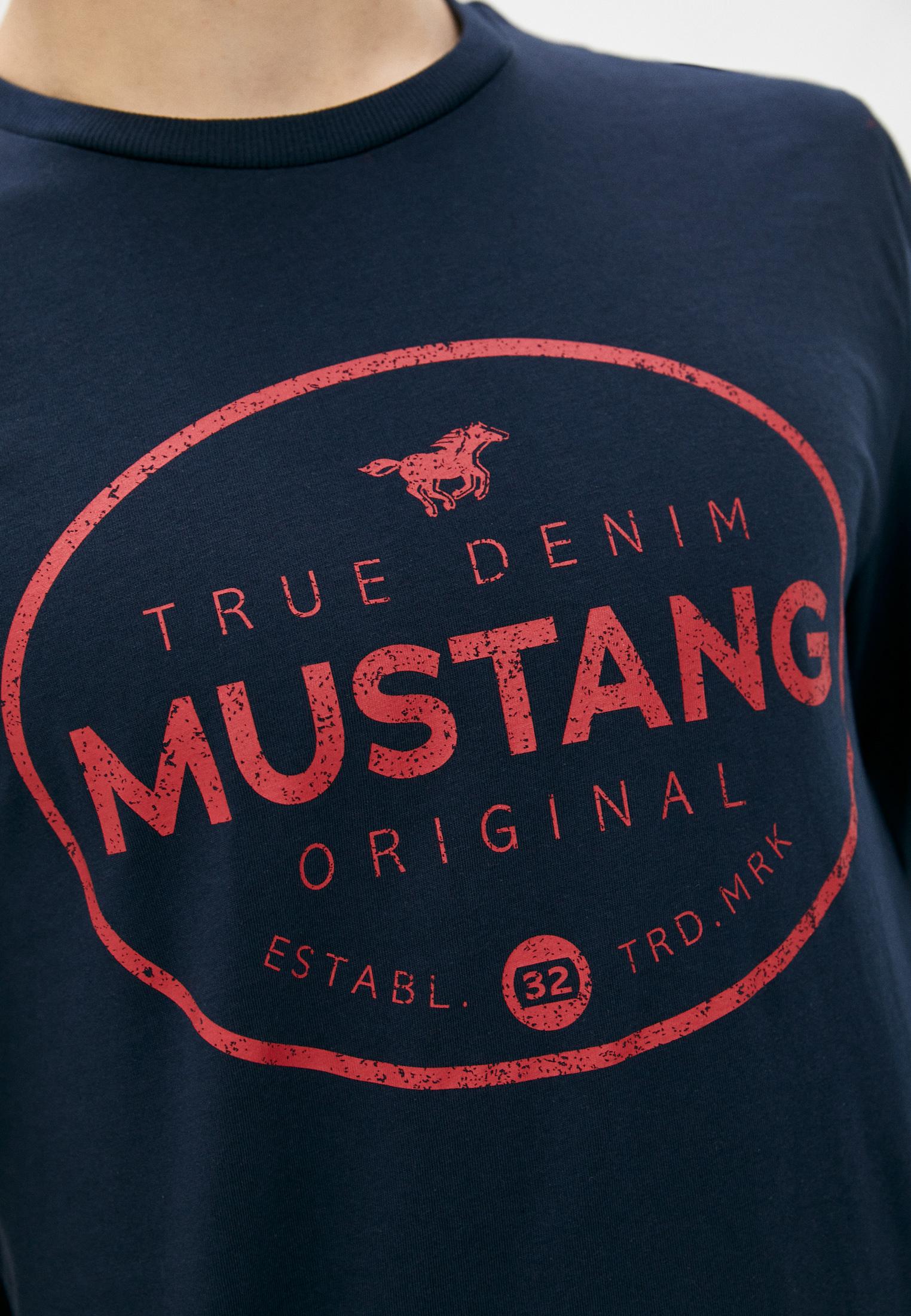 Футболка с длинным рукавом Mustang 1010690-4136: изображение 4