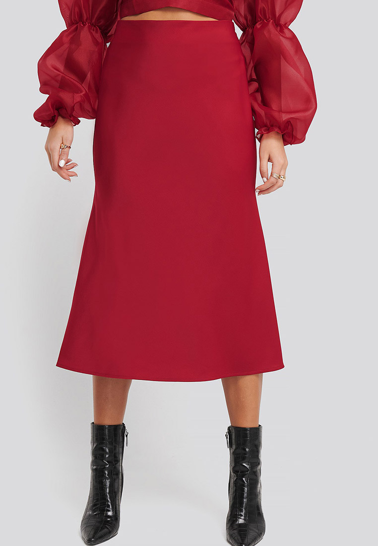 Широкая юбка NA-KD 1594-000151-0004