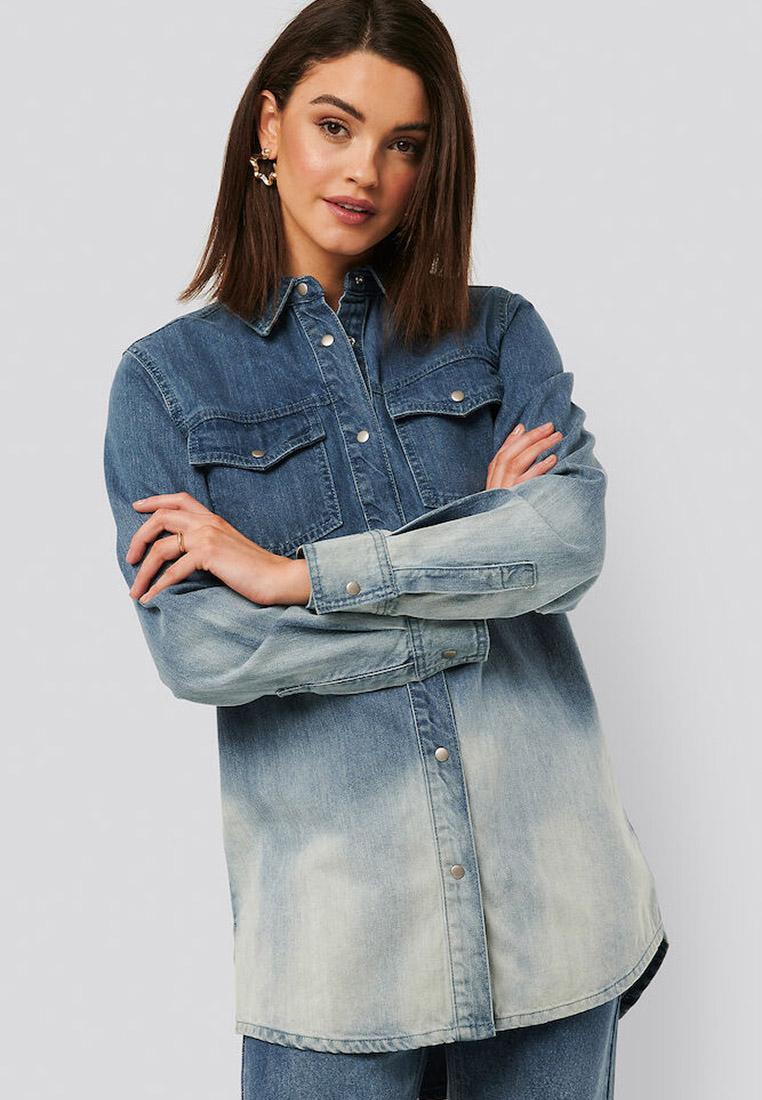 Женские джинсовые рубашки NA-KD 1018-004454-0003