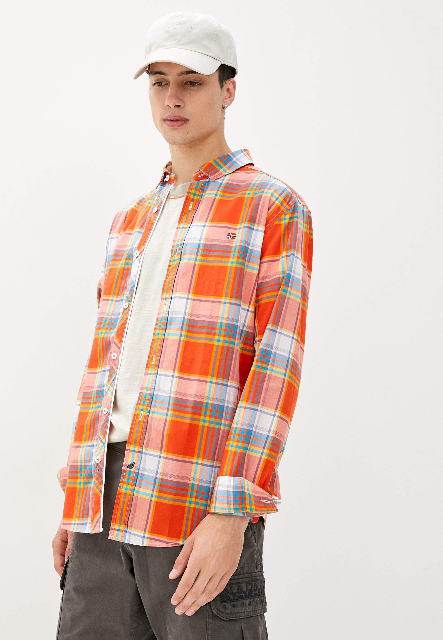 Рубашка с длинным рукавом Napapijri NA4E2V40C
