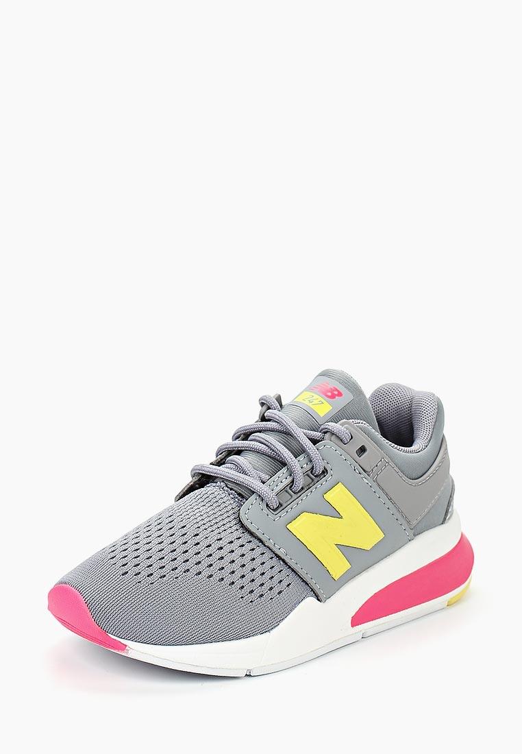 Кроссовки для девочек New Balance (Нью Баланс) KL247TIP