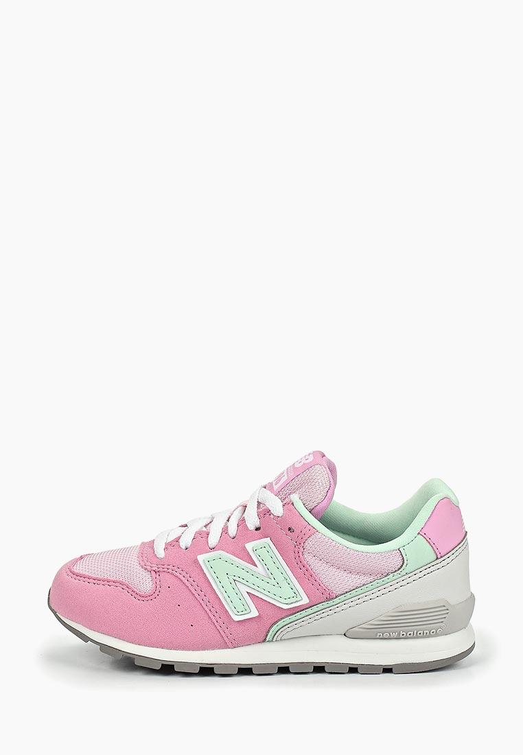 Кроссовки для девочек New Balance (Нью Баланс) YC996PMT