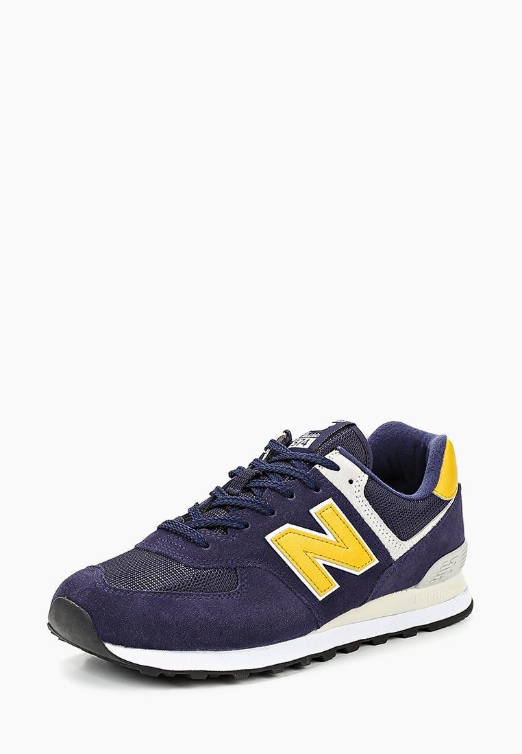 Мужские кроссовки New Balance (Нью Баланс) ML574SMB