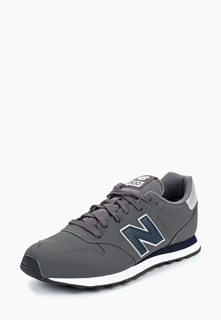 Мужские кроссовки New Balance (Нью Баланс) GM500MNN