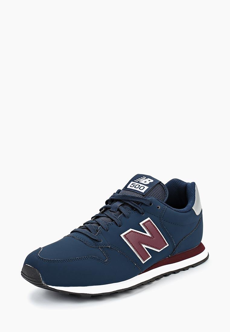Мужские кроссовки New Balance (Нью Баланс) GM500NAB