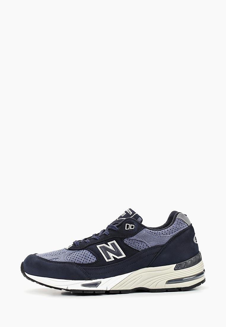 Мужские кроссовки New Balance (Нью Баланс) M991NVB