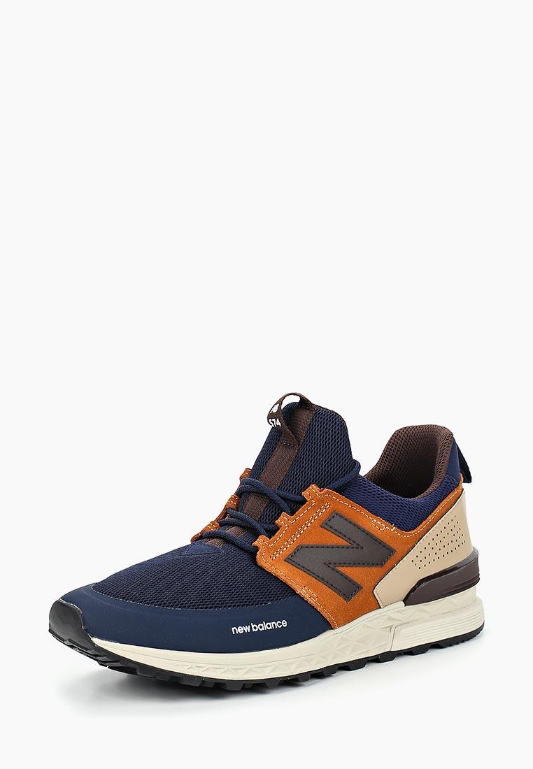 Мужские кроссовки New Balance (Нью Баланс) MS574DTX