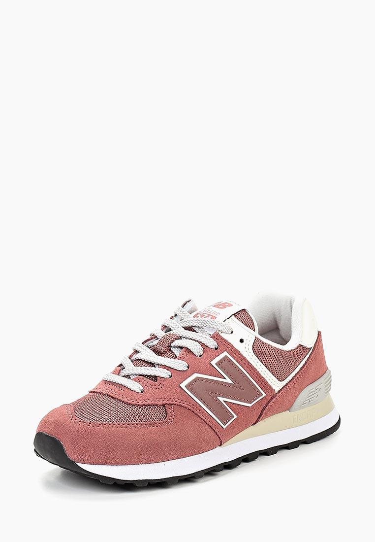 Женские кроссовки New Balance (Нью Баланс) WL574CRC