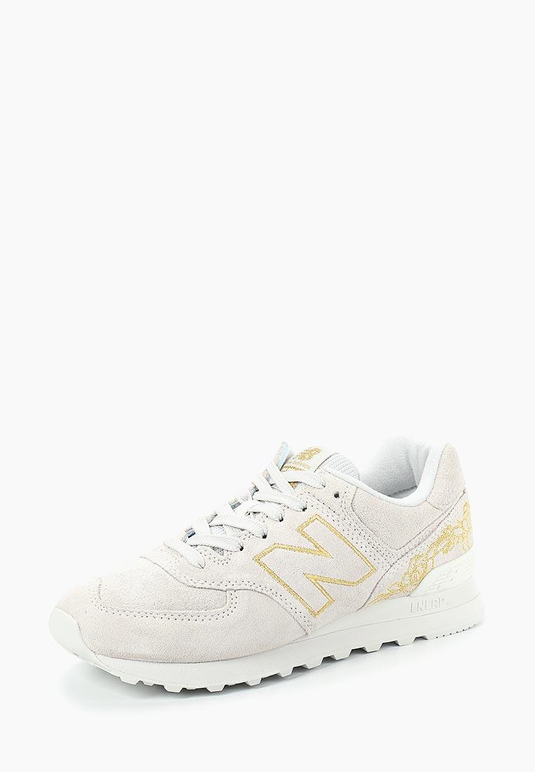 Женские кроссовки New Balance (Нью Баланс) WL574NGA