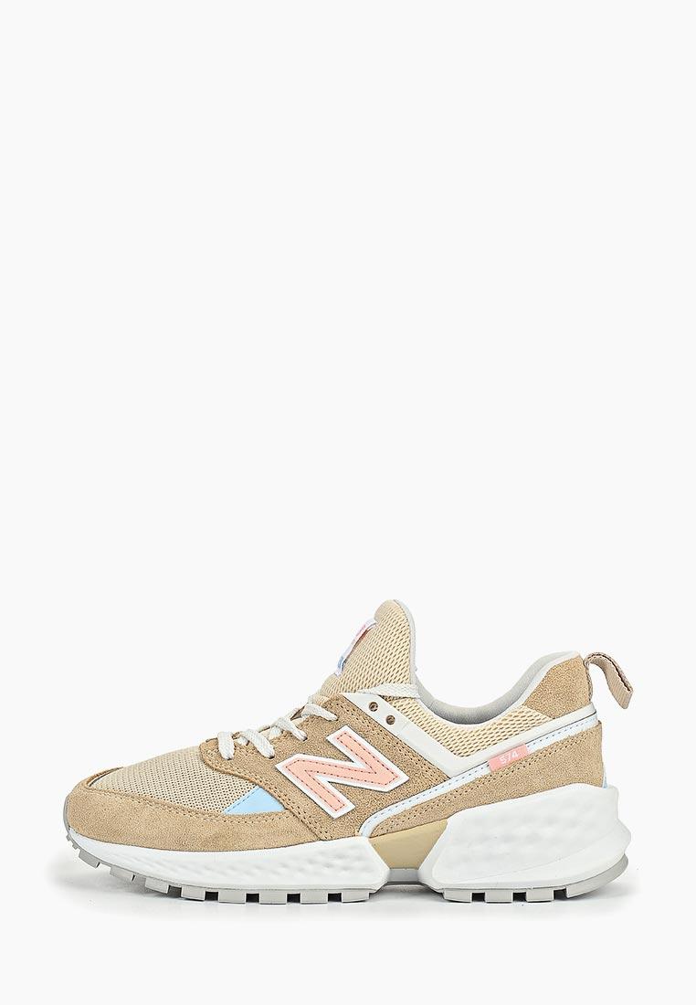 Женские кроссовки New Balance (Нью Баланс) WS574PRB