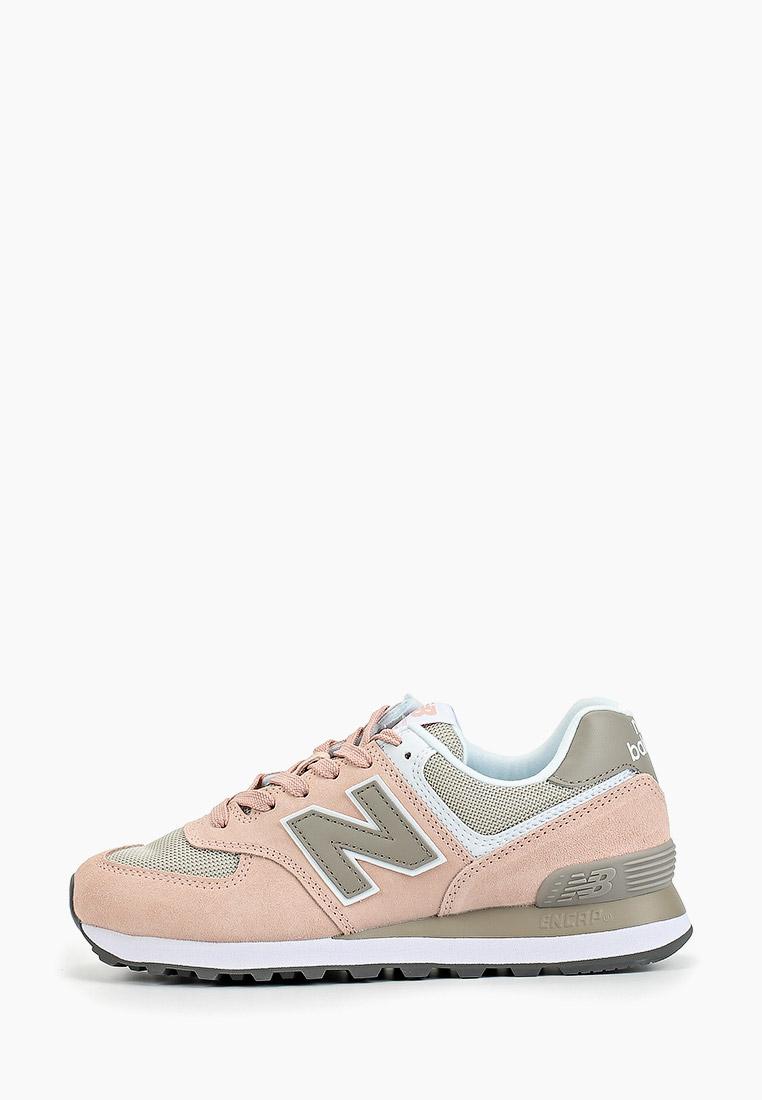 Женские кроссовки New Balance (Нью Баланс) WL574NDA