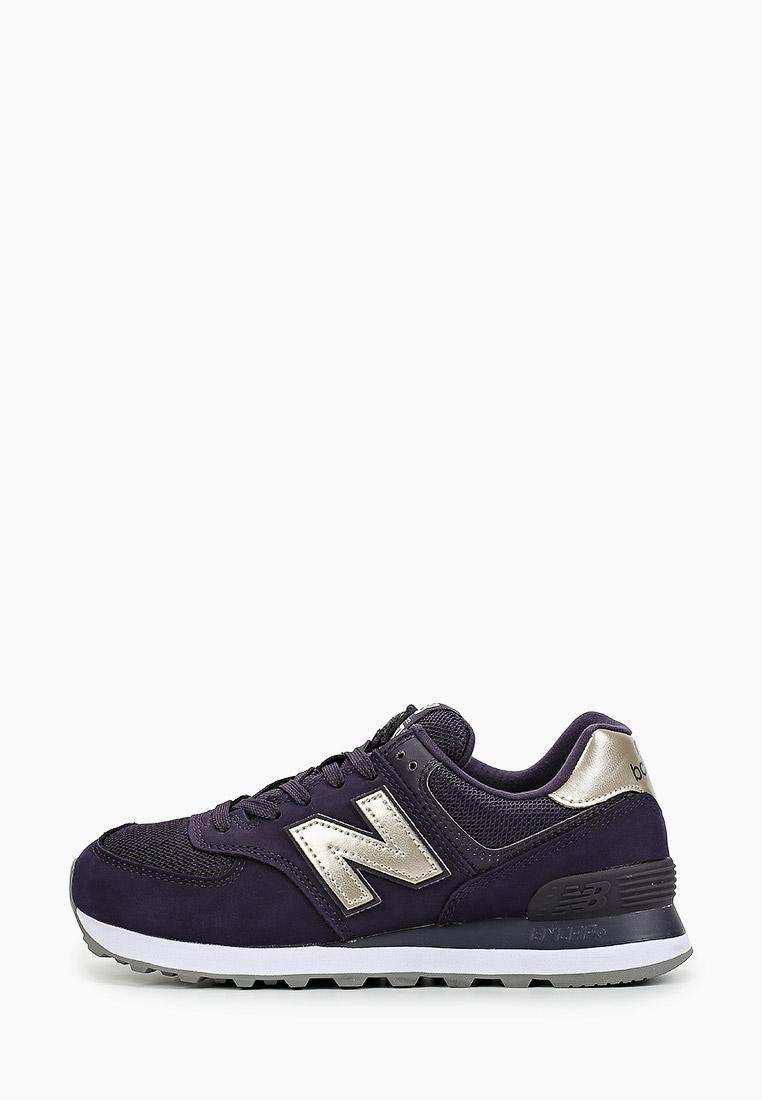Женские кроссовки New Balance (Нью Баланс) WL574WNM