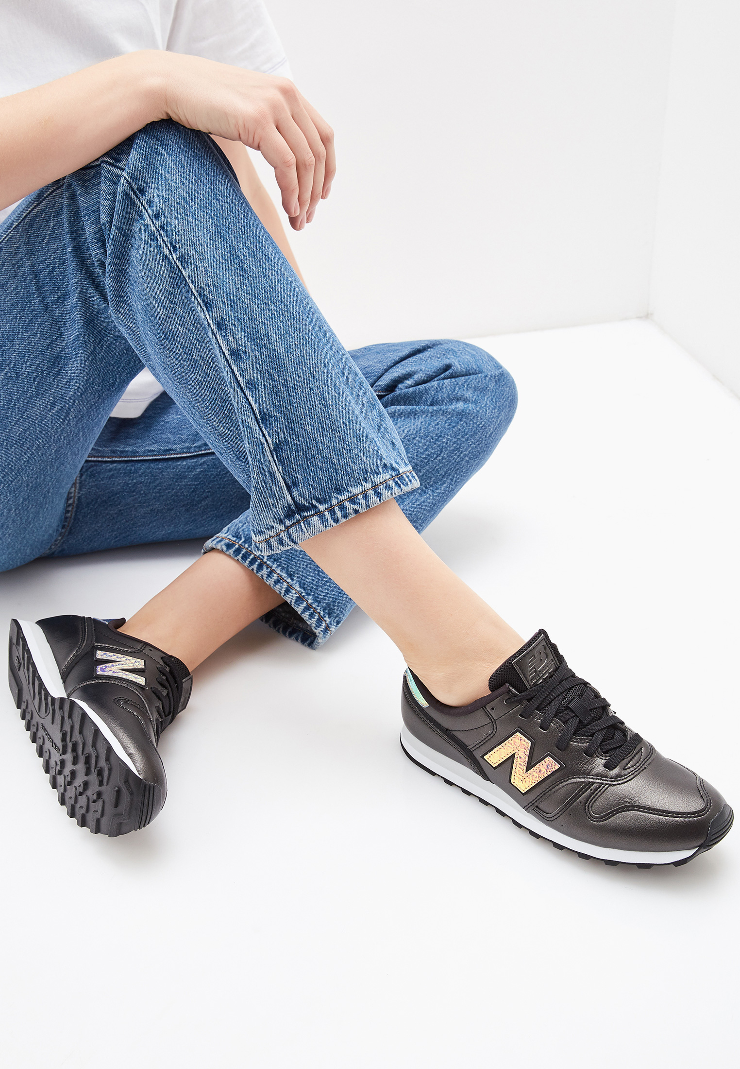 Женские кроссовки New Balance (Нью Баланс) WL373GB2