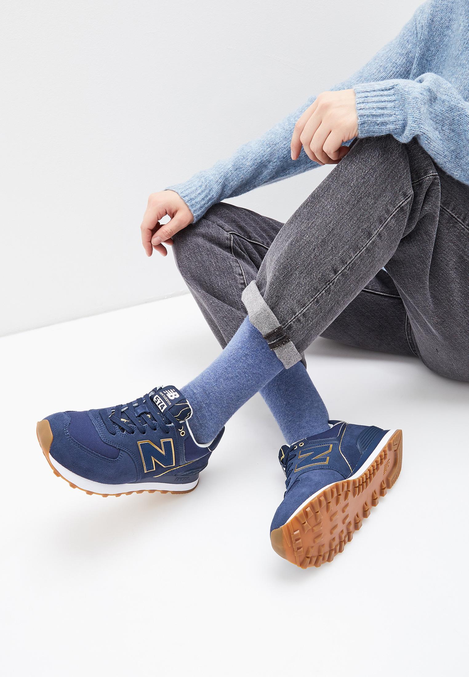 Женские кроссовки New Balance (Нью Баланс) WL574SOC
