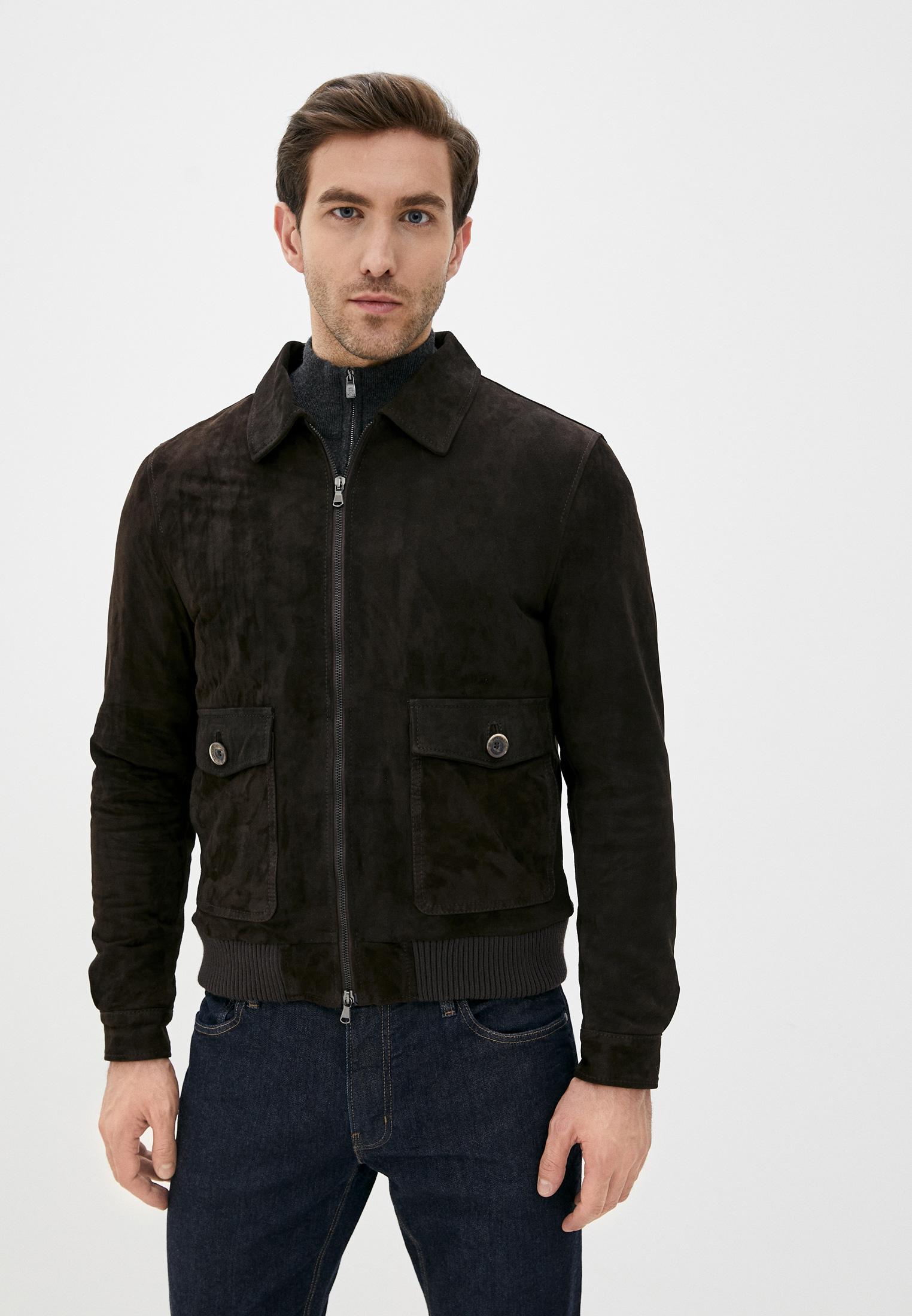 Кожаная куртка Ne.Ra Collezioni 1193
