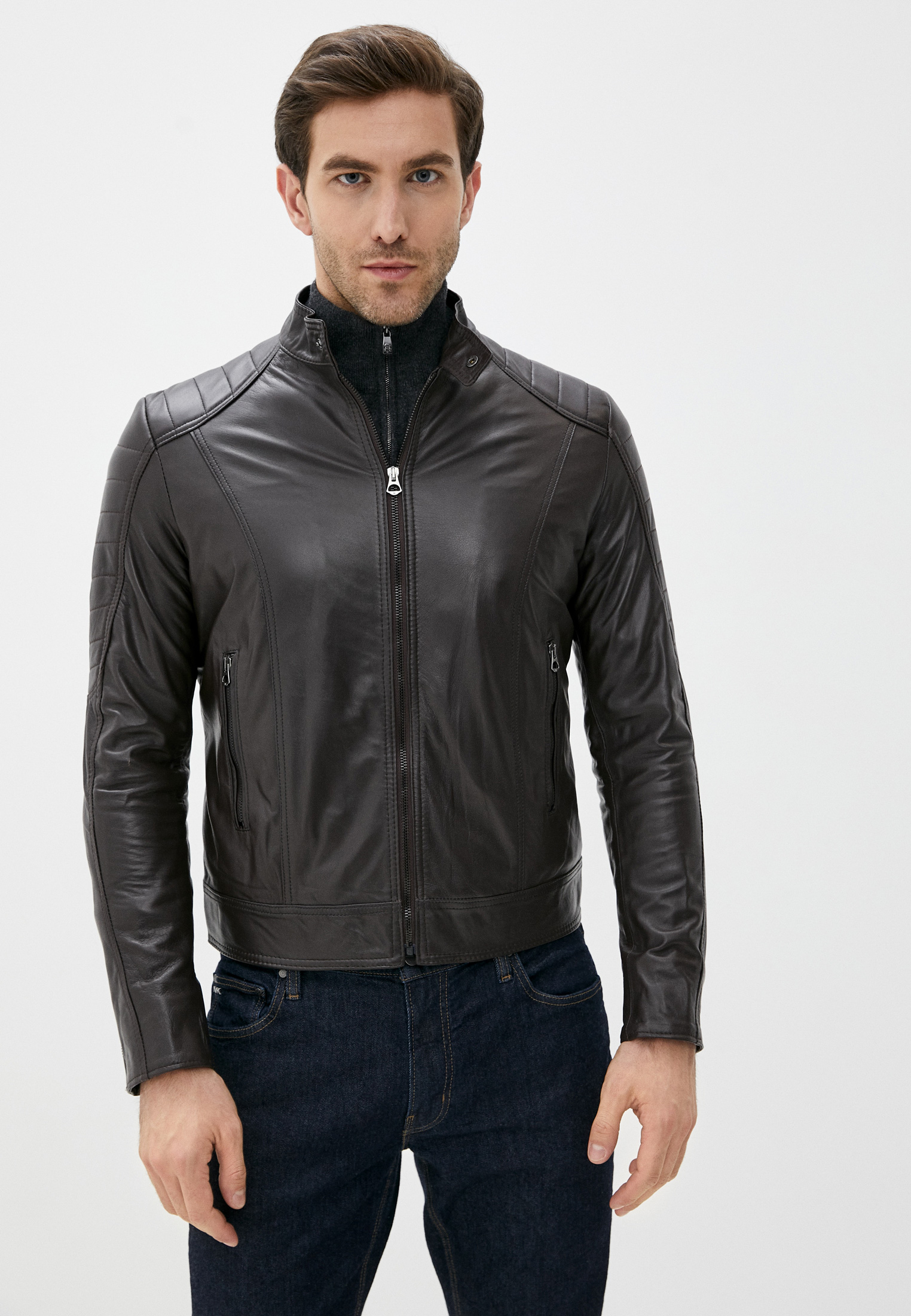 Кожаная куртка Ne.Ra Collezioni 1393