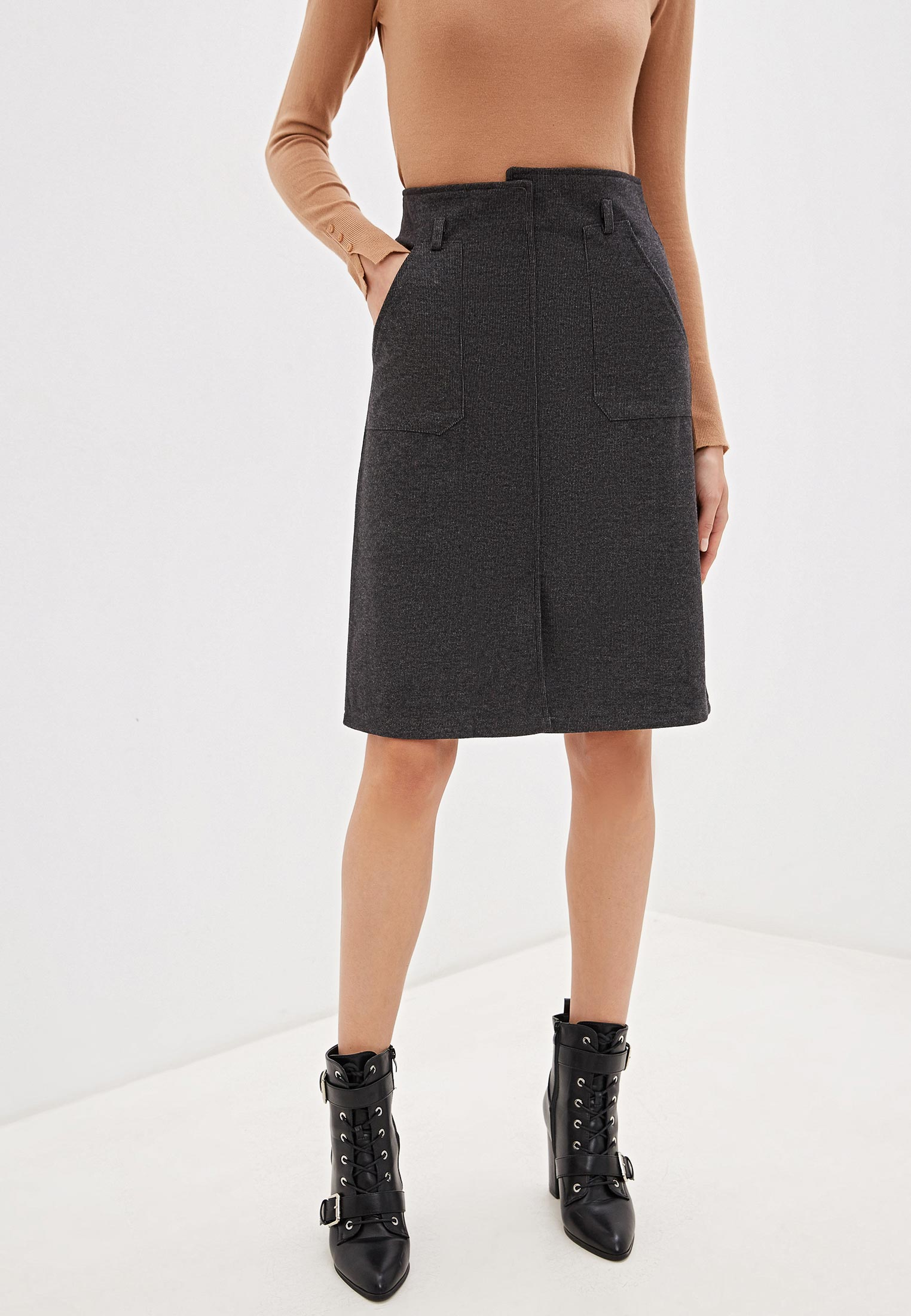 Прямая юбка Nerouge 2598