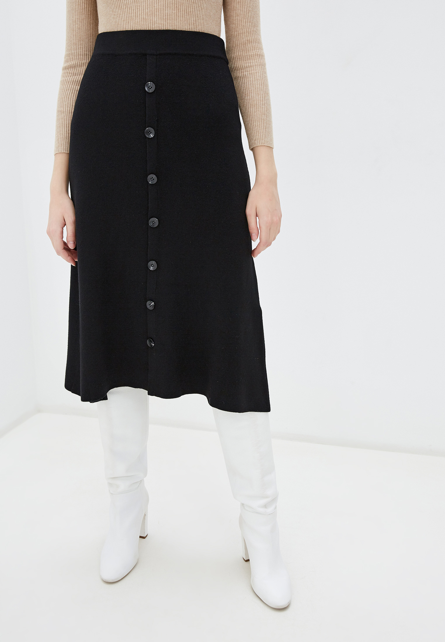 Широкая юбка Nerouge 2606