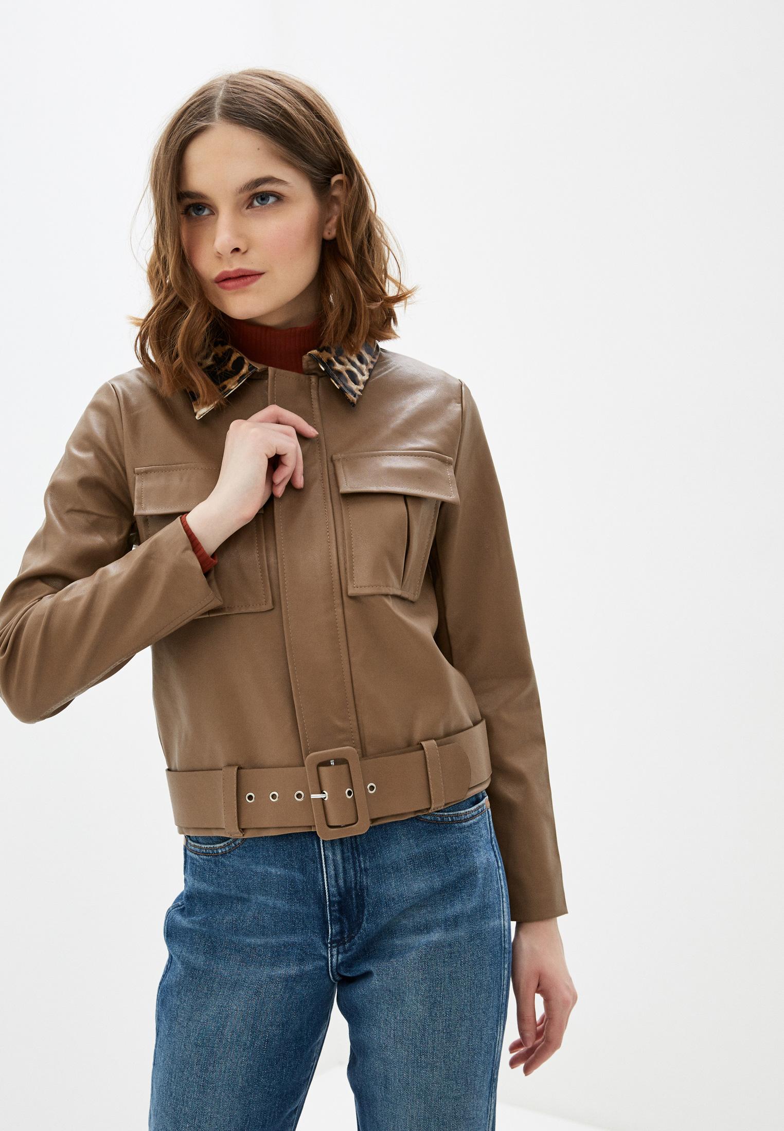 Кожаная куртка Nerouge N513-2