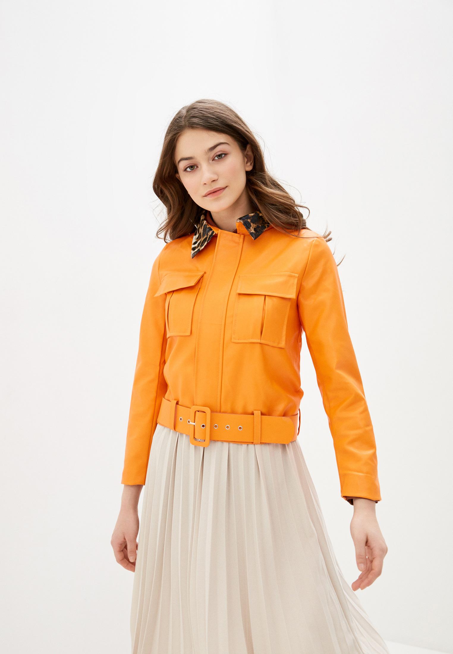 Кожаная куртка Nerouge N513-3