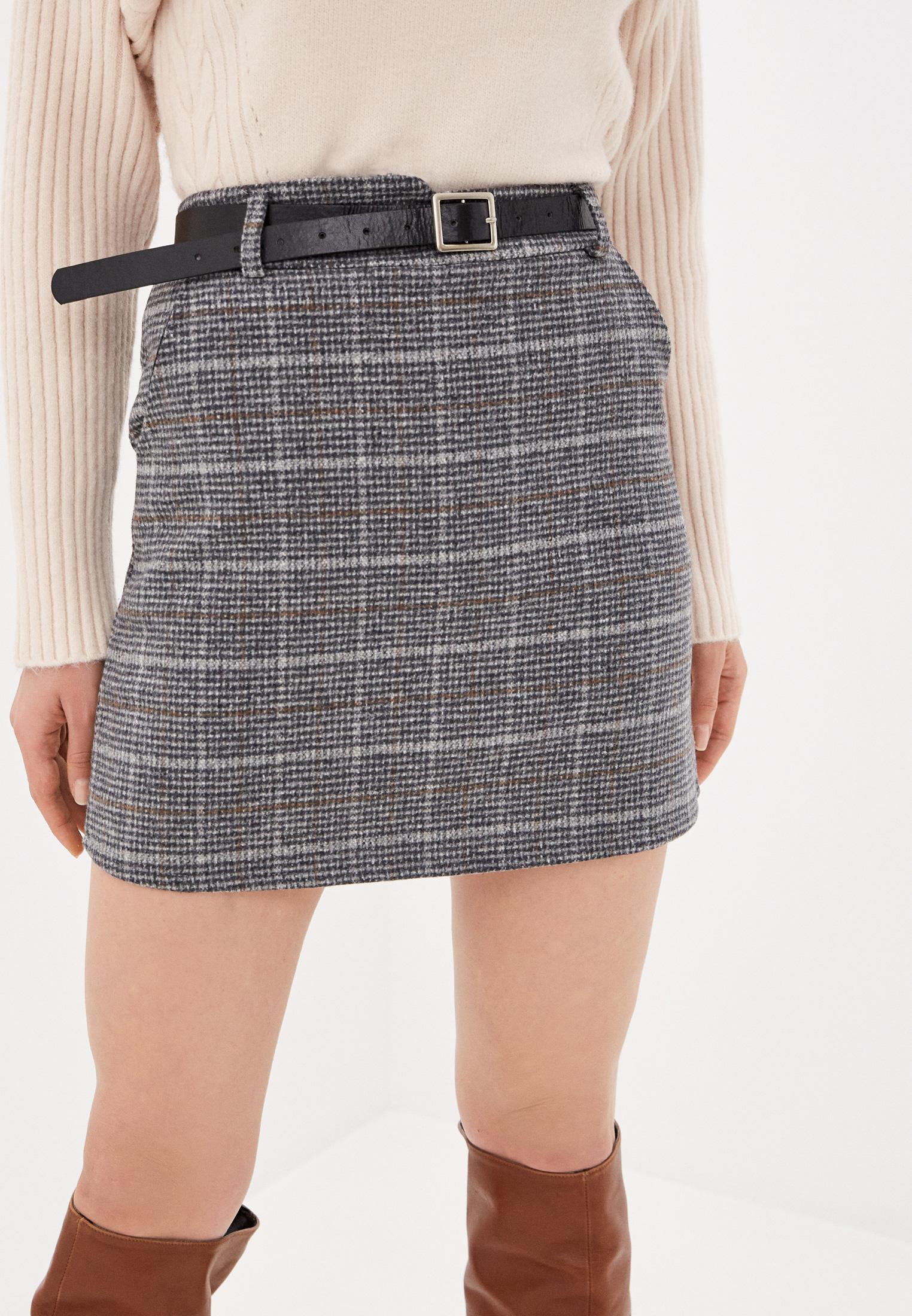 Прямая юбка Nerouge N2257