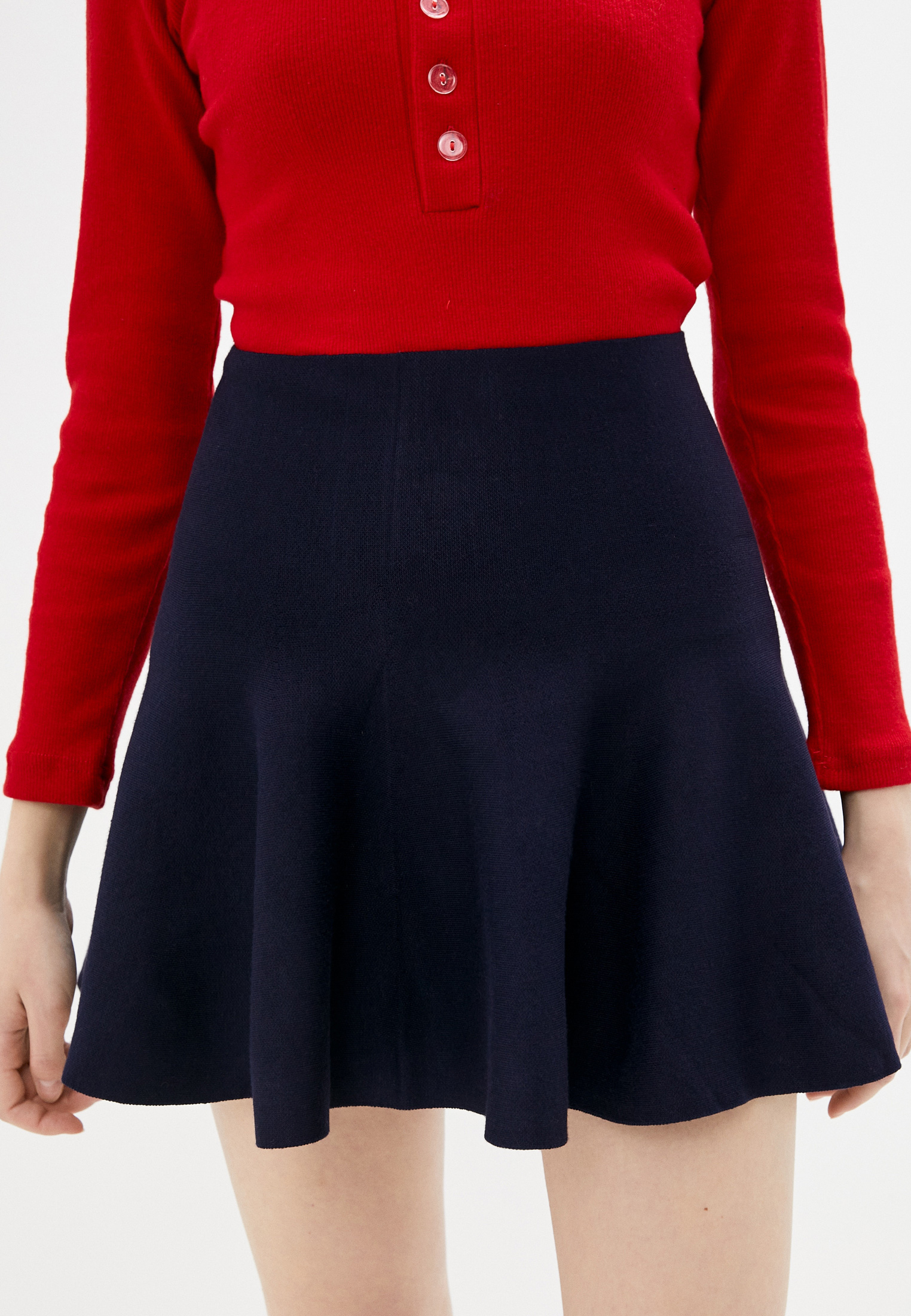 Широкая юбка Nerouge N2282