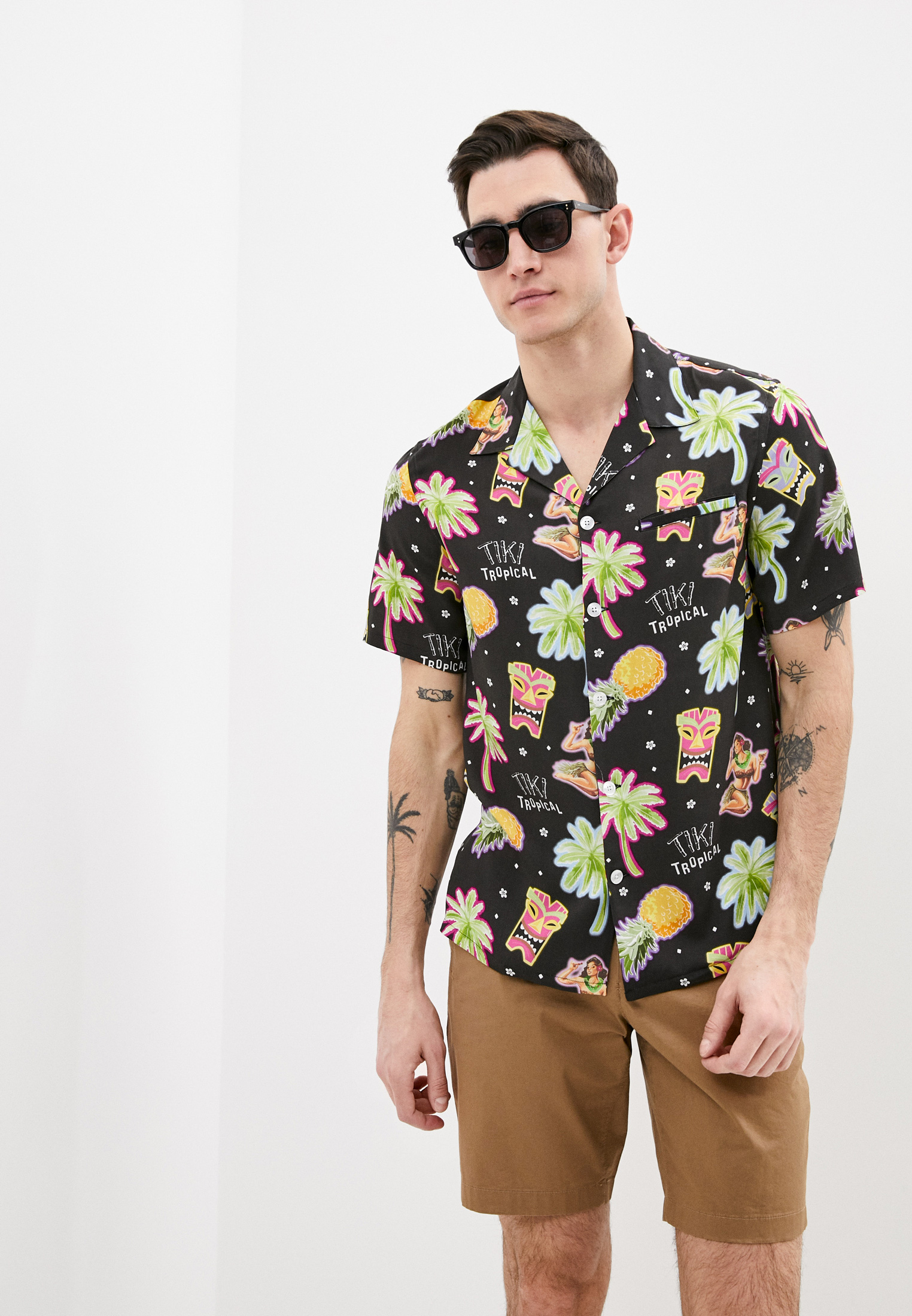 Рубашка с коротким рукавом Nikben SKU 4009