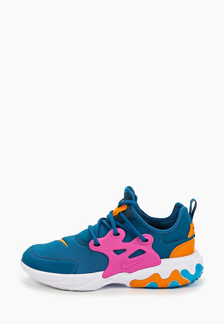 Кроссовки для девочек Nike (Найк) BQ4002