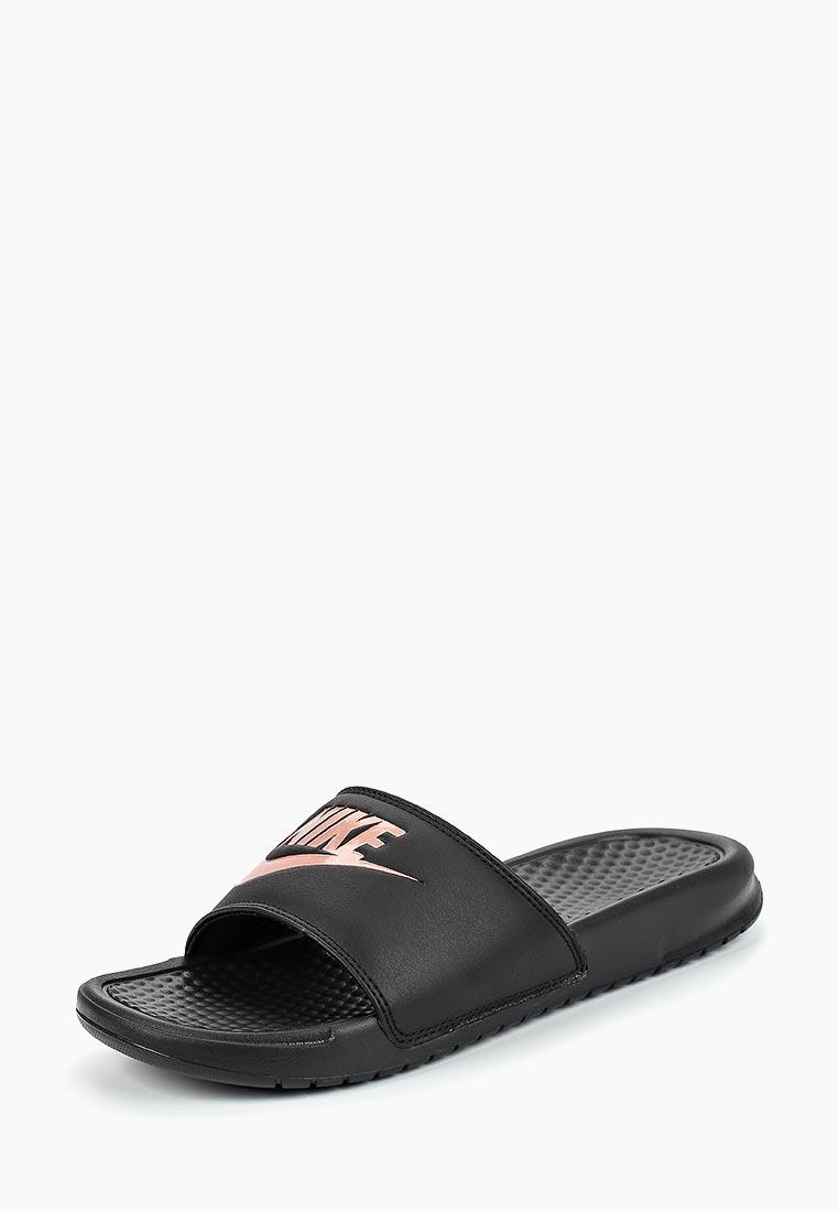 Женские сланцы Nike (Найк) 343881-007
