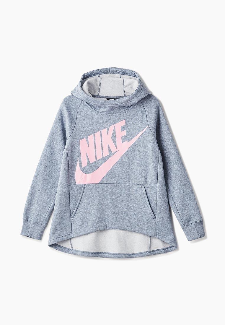 6b18f6fe Толстовка для девочек Nike (Найк) AJ6775-445 купить за 2960 руб.