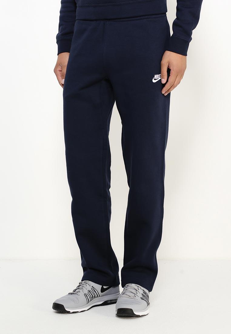 48643870 Мужские спортивные брюки Nike (Найк) 804395-451 цвет синий купить за ...