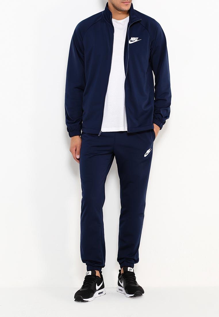 731ca7a3 Спортивный костюм мужской Nike (Найк) 861780-451 цвет синий купить ...