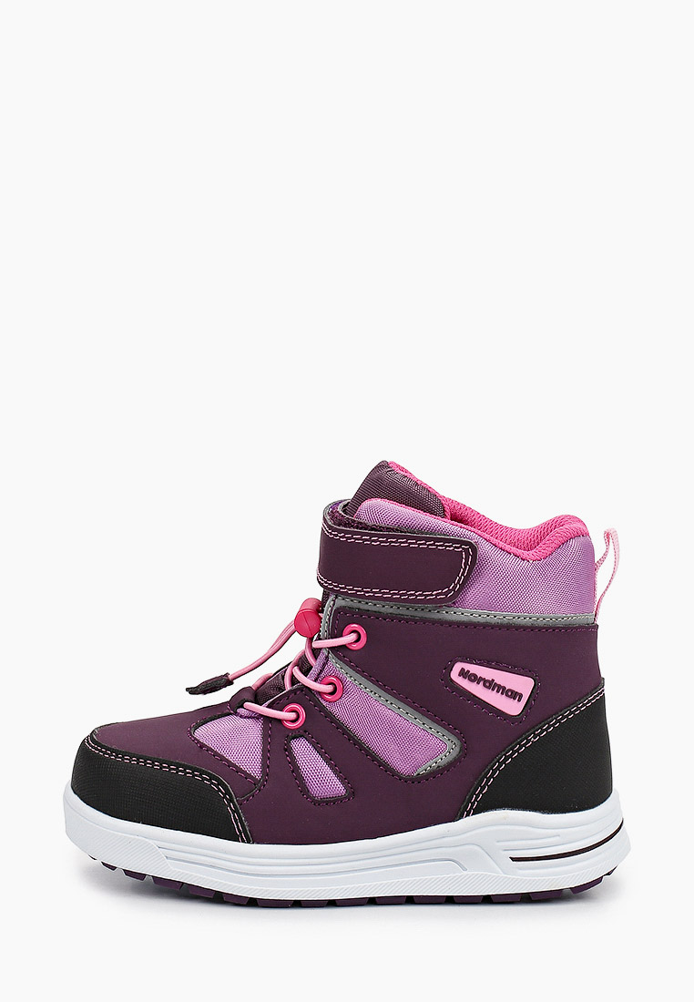 Ботинки для девочек Nordman 2-410-R01