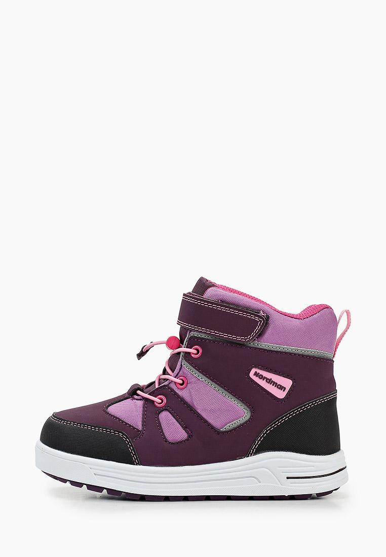 Ботинки для девочек Nordman 3-410-R01