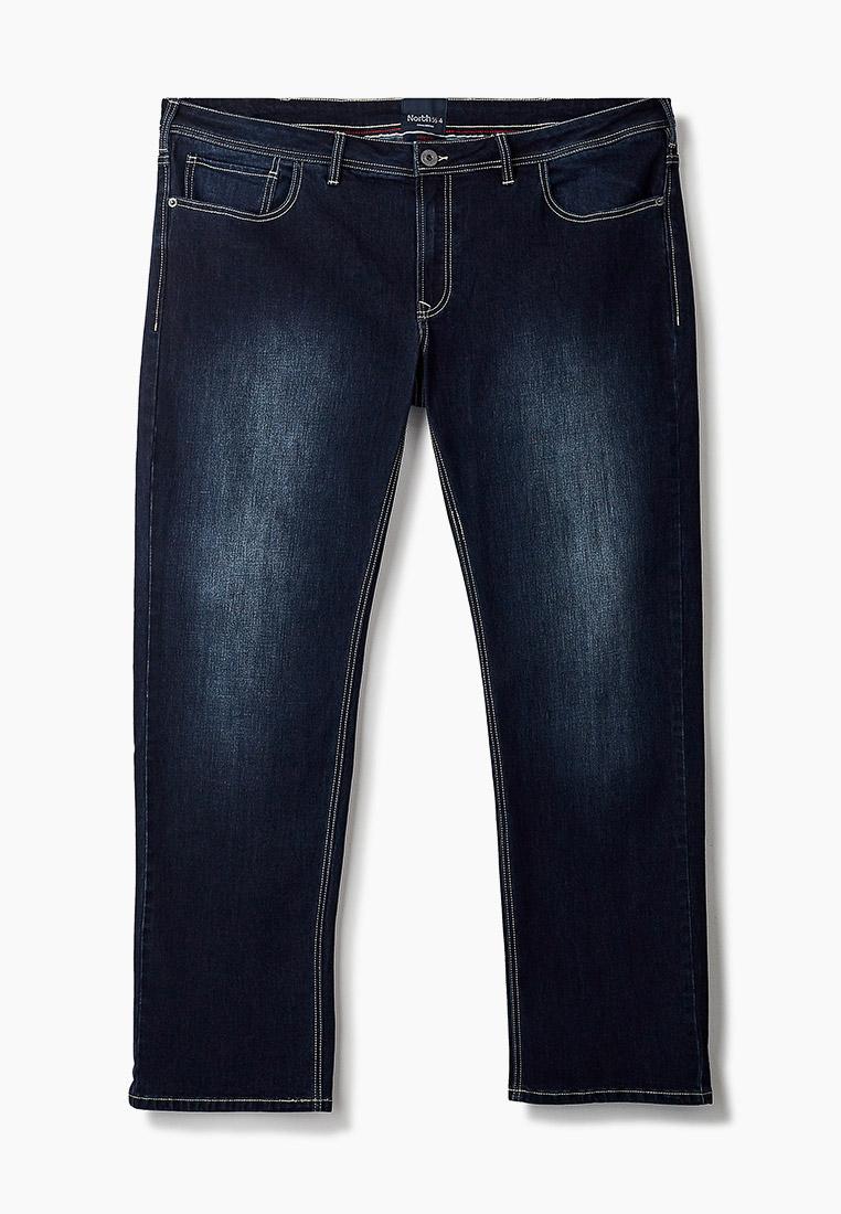 Мужские прямые джинсы North 56-4 03116B Mick