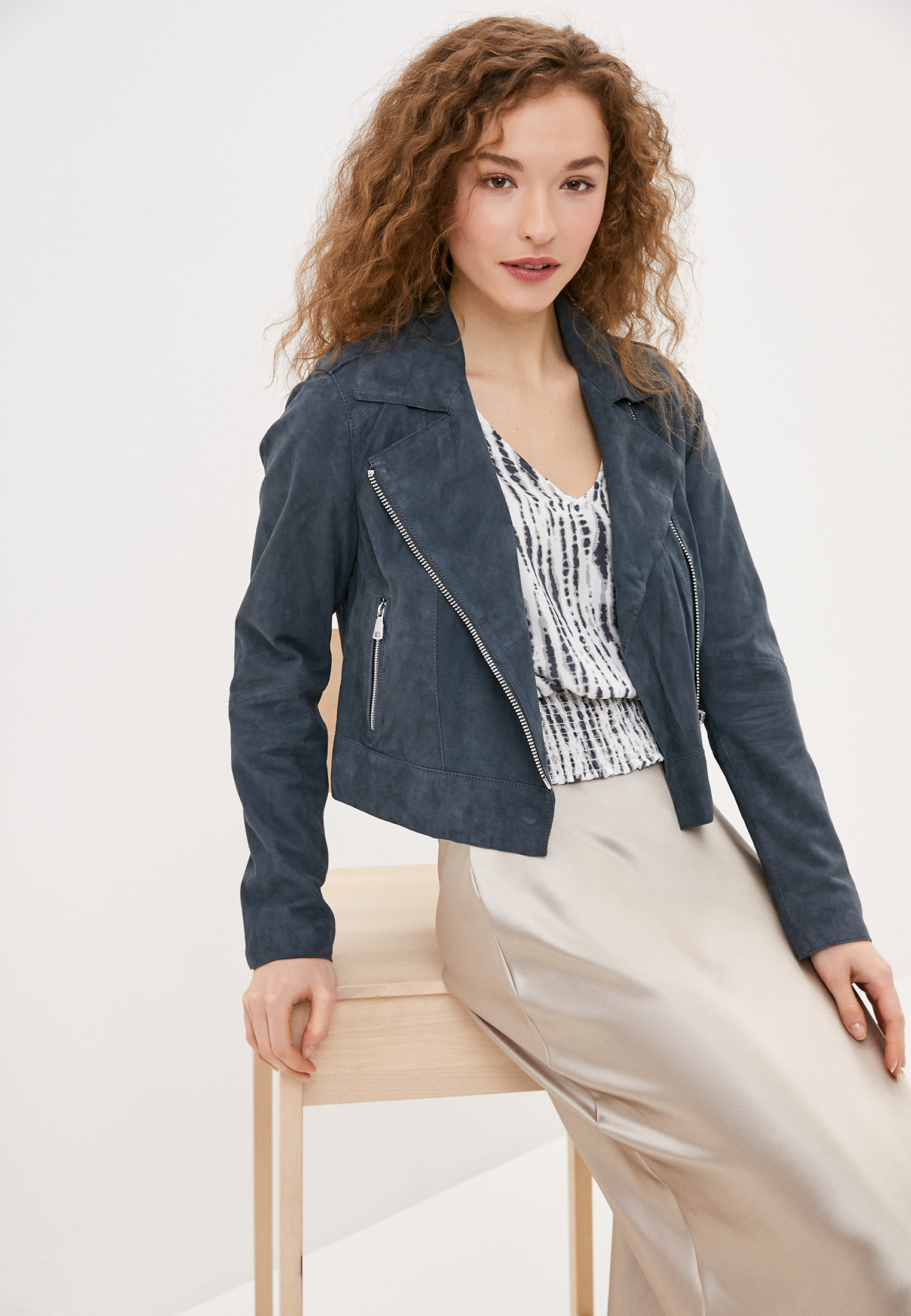 Кожаная куртка Oakwood (Оаквуд) 63637