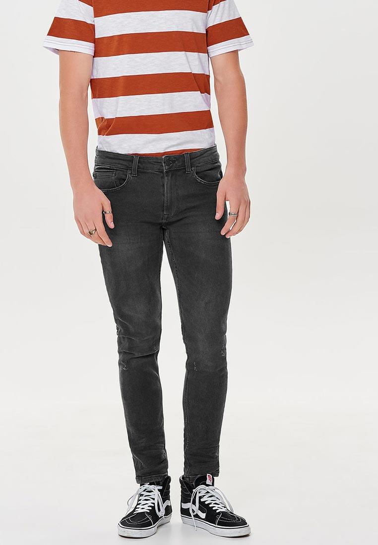 Зауженные джинсы Only & Sons (Онли Энд Санс) 22010899