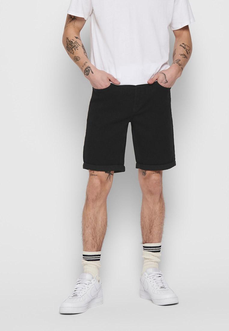 Мужские джинсовые шорты Only & Sons (Онли Энд Санс) 22015139