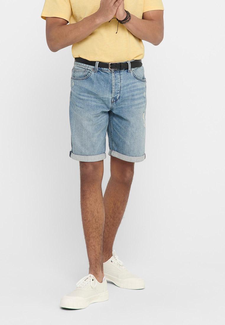 Мужские джинсовые шорты Only & Sons (Онли Энд Санс) 22016239
