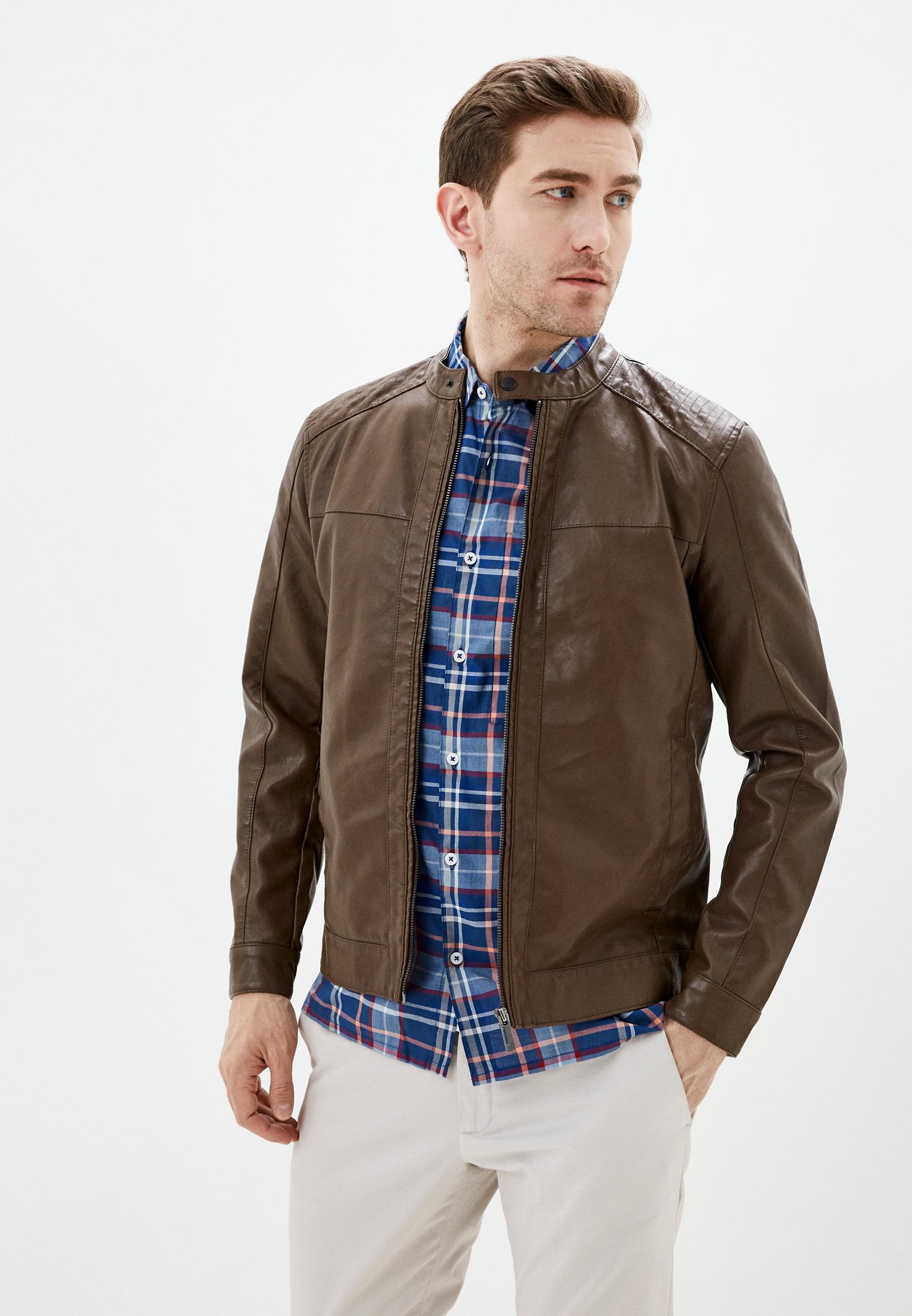 Кожаная куртка Only & Sons (Онли Энд Санс) 22012339